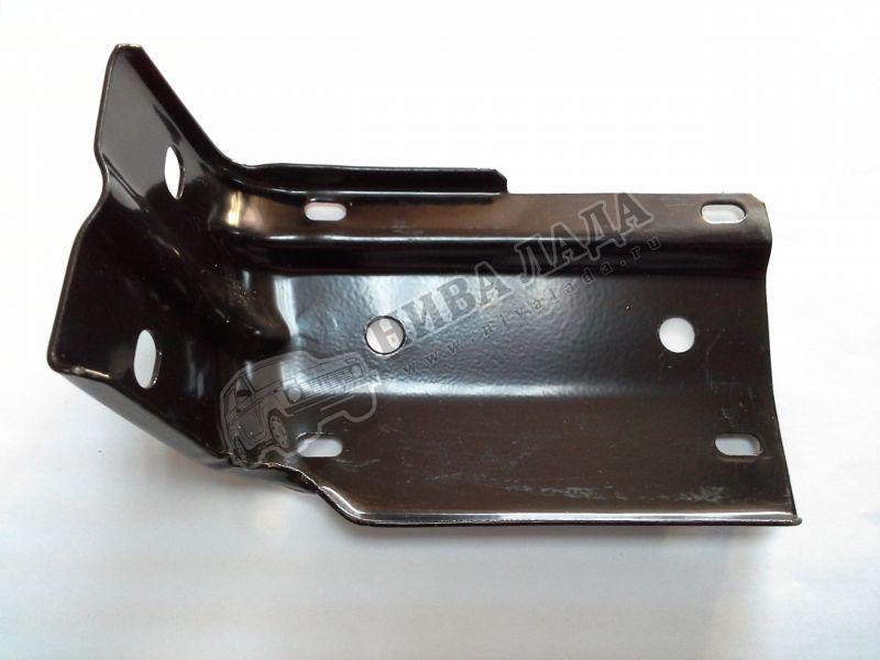Кронштейн накладки переднего бампера  ВАЗ 2121 левый