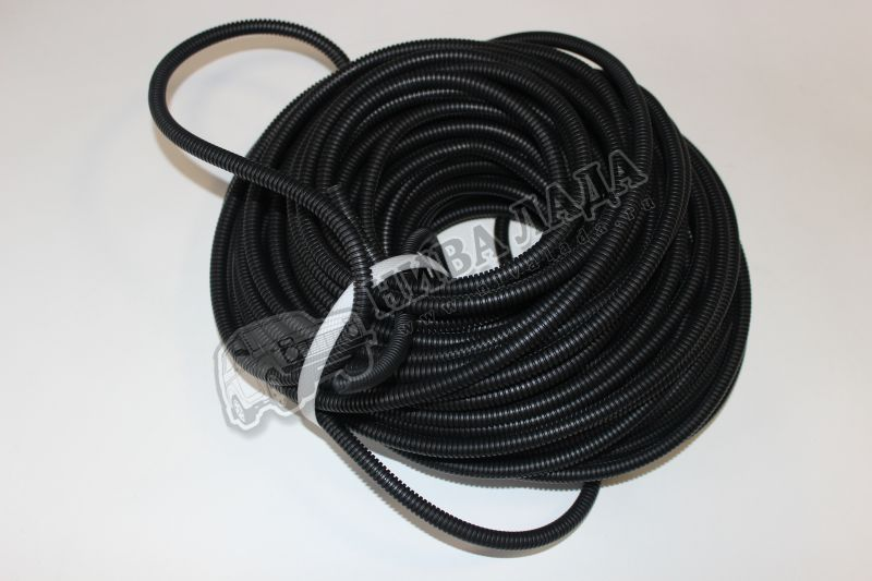 Гофра для проводов d  6,8 с разрезом (за 1 метр)