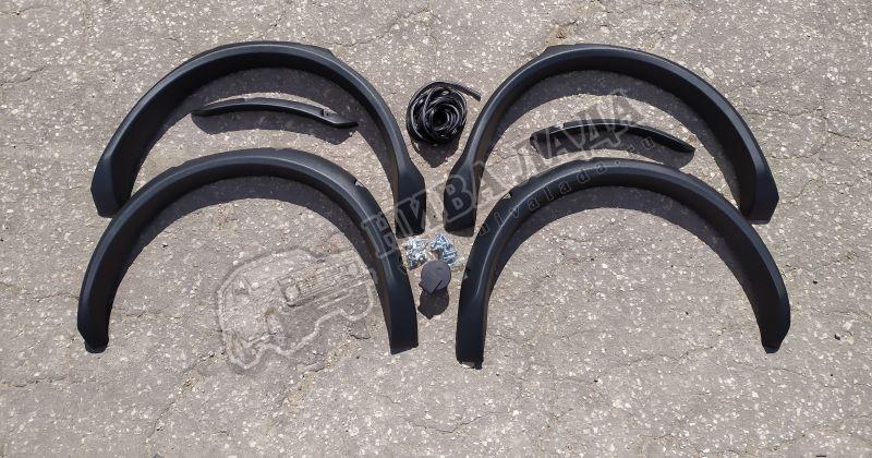 """Расширители колесных арок """"Lapter""""  ВАЗ 2131 (под резанные арки)"""