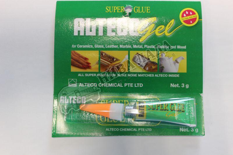 Клей-супер  Alteco 110  Гель 3гр.
