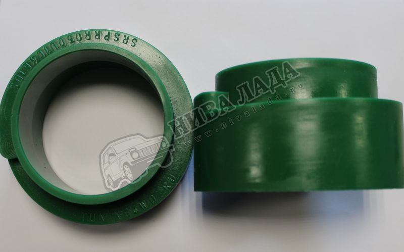 Завышки задних пружин ВАЗ 2101-2121 (к-кт.2шт.) усиленная (полиуритан) 50мм