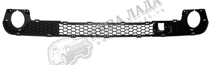 Решётка бампера нижняя (рестайлинг) ВАЗ 2123