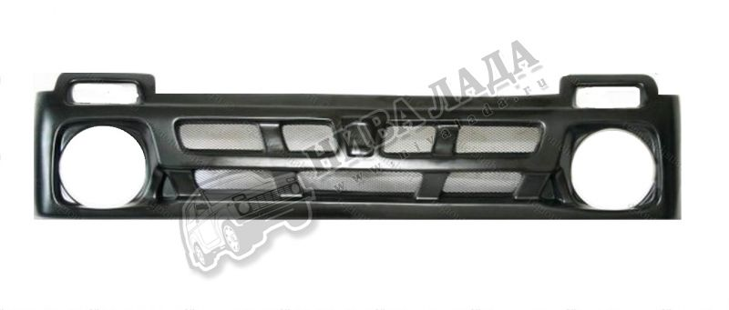 Решётка радиатора ВАЗ 2121 Каракатица с сеткой
