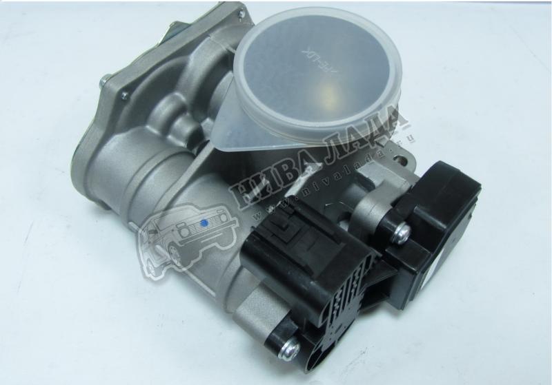 Патрубок дроссельной заслонки ВАЗ 21116 DELPHI
