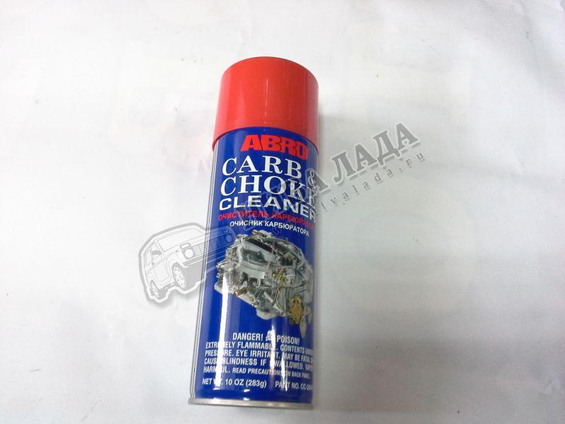 Очиститель карбюратора-спрей ABRO  283гр.