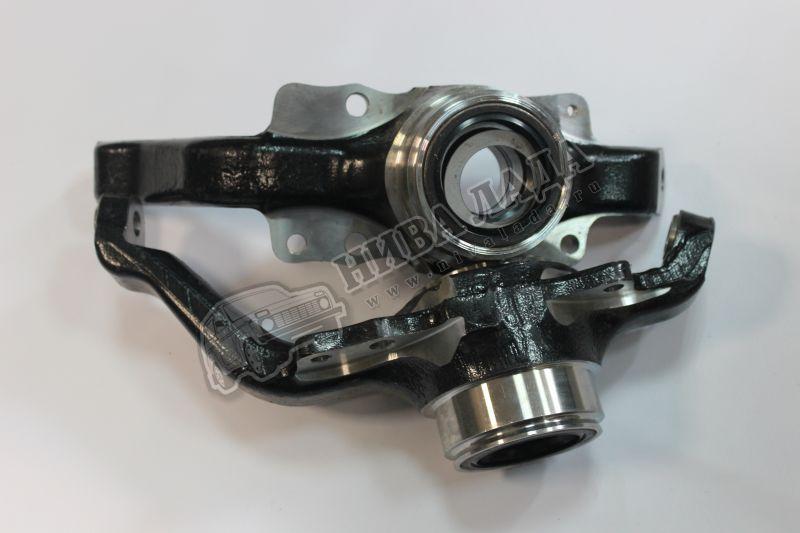 Кулак под штатную ступицу нерегулируемый ВАЗ 2121-2123 (к-кт.2шт.) п-к TUNING