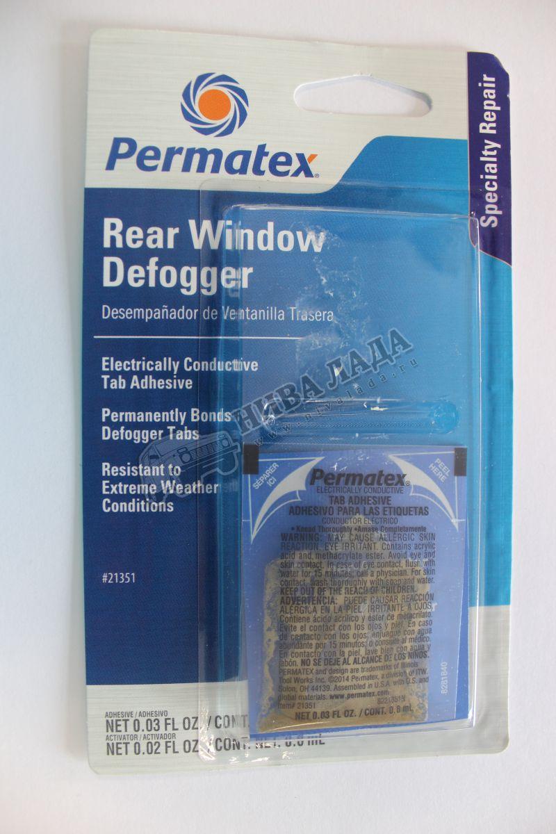 Клей для ремонта обогрева зад.стекла Permatex