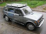 """Багажник экспедиционный """"Трофи"""" с алюмин. листом ВАЗ 2131"""