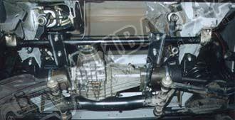 Независимое крепление редуктора переднего моста ВАЗ 2121 №1